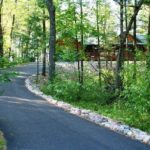 Driveway - Wooded Area